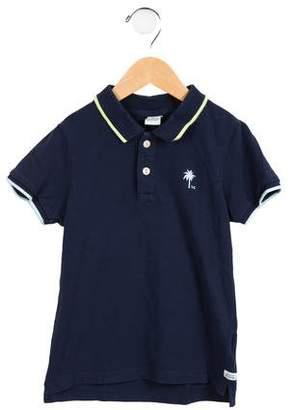 Scotch & Soda Boys' Logo Polo Shirt