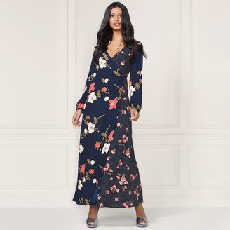 Lauren Conrad Runway Collection Wrap Maxi Dress - Women's