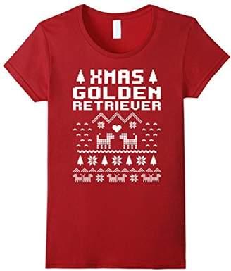 Golden Retriever Funny Christmas T shirt