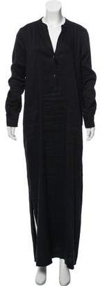 Vince Long Sleeve Maxi Dress