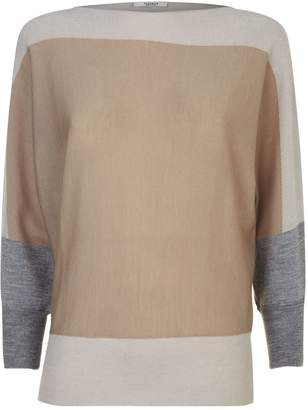 Peserico Knitted Lurex Sweater