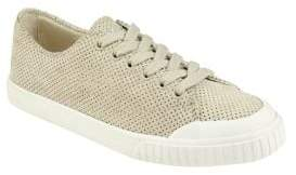 Tretorn Marley Perforated Suede Sneakers