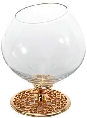 Mouth-Blown 18-Karat Gold & Titanium Snifter Glass