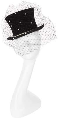 Victoria Grant Pearl Veil Top Hat
