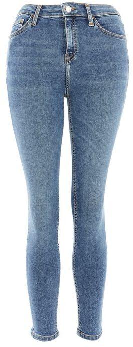 TopshopTopshop Moto embroidered hem jamie jeans