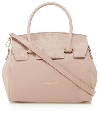 Lancaster Light Pink Leather 'Valena' Shoulder Bag