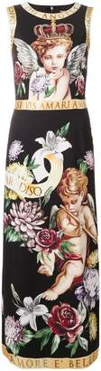 Dolce & Gabbana sleeveless printed dress