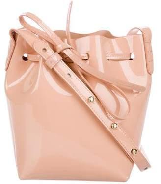 Mansur Gavriel Patent Leather Bucket Bag