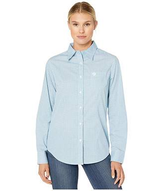 Wrangler George Strait For Her Button-Down Print Top