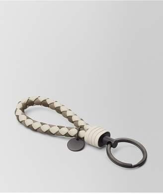 Bottega Veneta Mist Intrecciato Lamb Club Key Ring