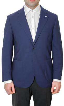 Lubiam Single-breasted Jacket With Two Buttons