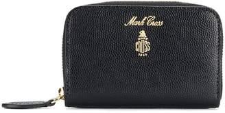 Mark Cross Grace mini zip around wallet