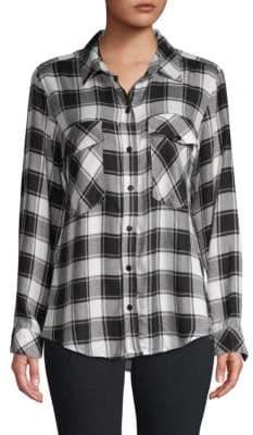 Sanctuary Boyfriend Plaid Button Down Shirt