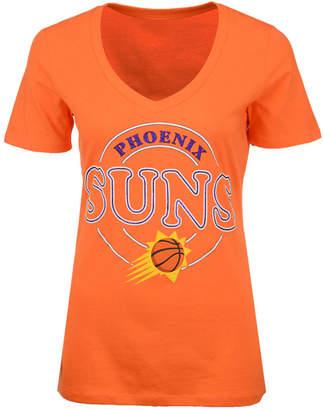 5th & Ocean Women's Phoenix Suns Circle Glitter T-Shirt