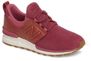 New Balance Nubuck 574 Sport Sneaker