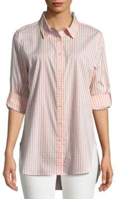 Calvin Klein Gingham Button-Down Shirt