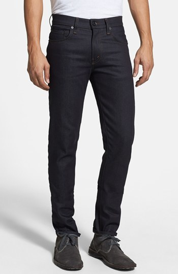 J Brand Skinny Fit Jeans (Raw Stretch)