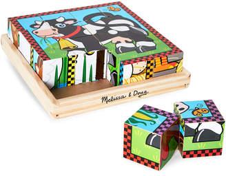 Melissa & Doug Wooden Cube Puzzle