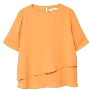 MANGO Double-layer blouse