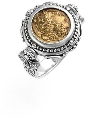 Women's Konstantino 'Athena' Coin Flip Ring $350 thestylecure.com