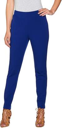Women With Control Attitudes by Renee Stretch Supreme Knit Pull-On Ankle Pants