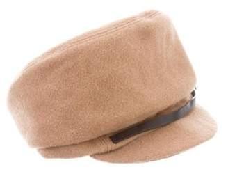 Eugenia Kim Camel Hair Newsboy Hat