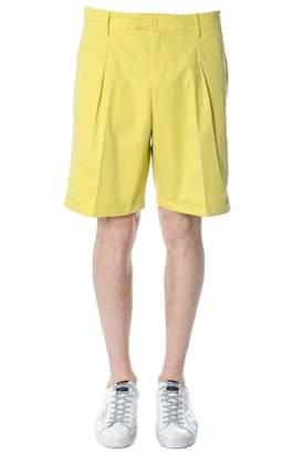 Dondup Yellow Cotton Shorts