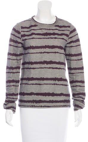 A.L.C.A.L.C. Striped Crew Neck Sweater