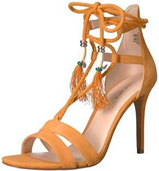 Nine West Women's Mangalara Suede Dress Sandal