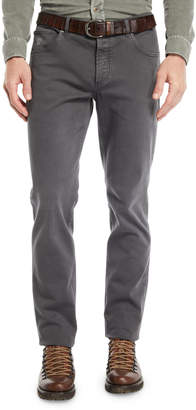 Brunello Cucinelli Men's Straight-Leg Denim Pants