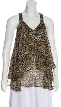 LaROK Leopard Print Sleeveless Top