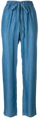 MICHAEL Michael Kors high-waist straight-leg trousers