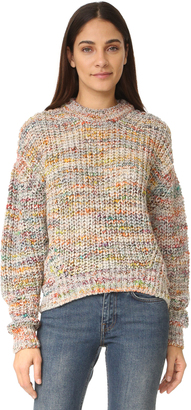 Acne Studios Zora Multi Sweater $450 thestylecure.com