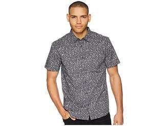 O'Neill Growler Short Sleeve Woven Top Men's Clothing