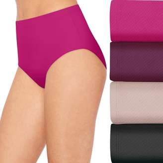 Hanes Women's 4+1 Bonus Pack Ultimate Breathable Comfort Ultra Light Briefs 40ULBB