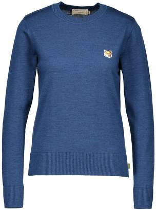 MAISON KITSUNÉ Fox wool jumper