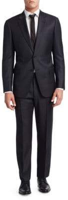 Emporio Armani G Line Gentleman's Fit Wool Suit
