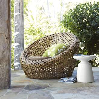 west elm Montauk Outdoor Nest Chair - Antique Palm