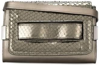 M·A·C Mara Mac metallic textured shoulder bag