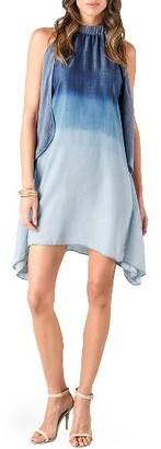 Junior Women's Standards & Practices Halter Shift Dress $78 thestylecure.com