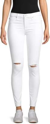 Hudson Jeans Mid-Rise Super Skinny Ankle Jeans