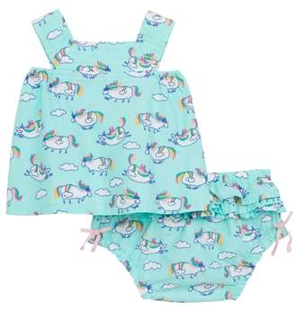 Hatley Unicorn Print Dress
