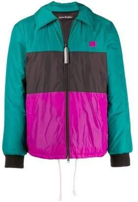 Acne Studios odgar color-block padded jacket