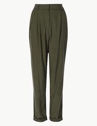 Marks and Spencer Ankle Grazer Peg Trousers