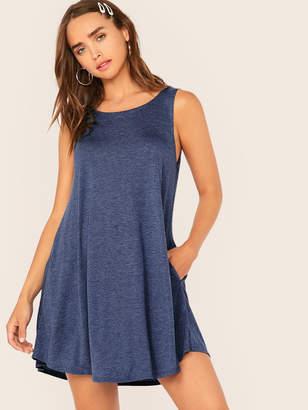 Shein Pocket Side Swing Dress