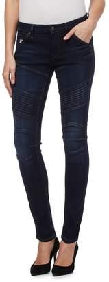 G Star G-Star - Dark Blue Mid-Rise Skinny Jeans