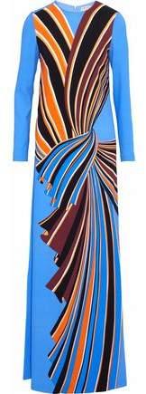 Emilio Pucci Printed Crepe Gown