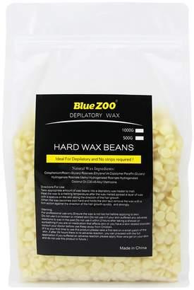 Bluezoo Brazilian Hard Wax Beads Depilatory Solid Hot Film Waxing Pellets for Body Bikini Hair Removal 1000g