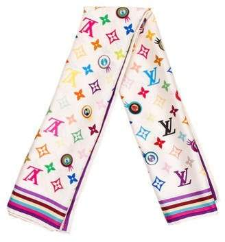 Louis Vuitton Eye Love You Scarf