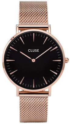 Cluse Women's La Boheme 38mm Steel Bracelet Metal Case Quartz Watch CL18113